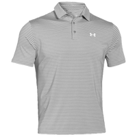 Under Armour Playoff Golf Polo - Men's - Grey / White