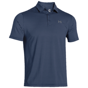 Under Armour Playoff Golf Polo - Men's - Academy/Steel/Steel