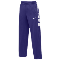 Nike Team Elite Stripe Pants - Women's - Purple / White