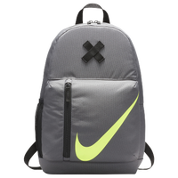 Nike Young Elemental Backpack - Grade School - Grey / Black