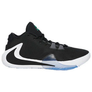 Nike Zoom Freak 1 - Men's - Antetokounmpo, Giannis - Black/White/Lucid Green