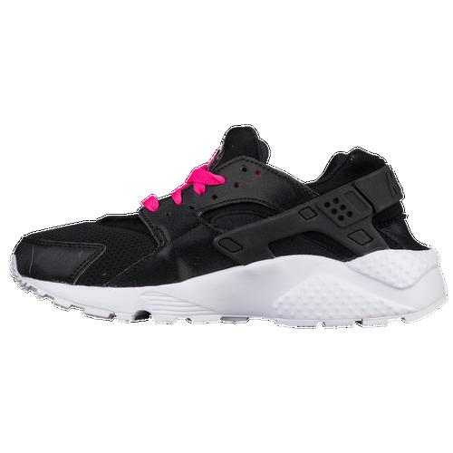 5e7659b63856 Nike Huarache Run - Girls  Grade School - Casual - Shoes - Black ...