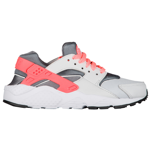 Nike Huarache Run - Girls' Grade School - Casual - Shoes - Pure  Platinum/Lava Glow/Cool Grey/White