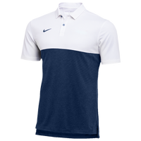 Nike Team Authentic Dry S/S Colorblock Polo - Men's - White / Navy