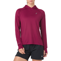 ASICS® Thermopolis Long Sleeve Hoodie - Women's - Maroon