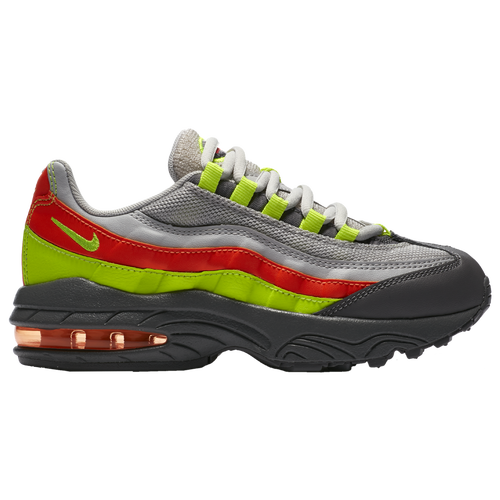 size 40 62f4d 75ca6 Nike Air Max 95 - Boys' Preschool - Casual - Shoes - Vast Grey/Volt ...