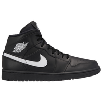 sports shoes b4de1 d3afc Jordan AJ 1 Mid - Men s - Black   White