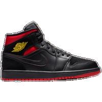 wholesale dealer c9c11 c252c Jordan AJ 1 Mid - Men s - Black   Red