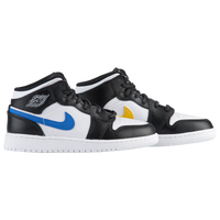 657c52bb883d Jordan AJ 1 Mid - Boys  Grade School - Black   White
