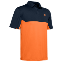 Under Armour Performance 2.0 Colorblock Polo - Men's - Navy / Orange