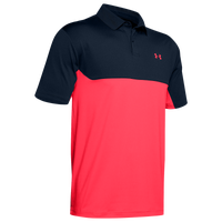 Under Armour Performance 2.0 Colorblock Polo - Men's - Navy / Red