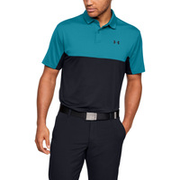 Under Armour Performance 2.0 Colorblock Polo - Men's - Light Blue / Black