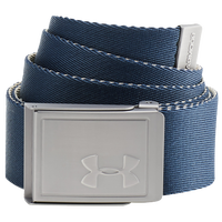 Under Armour Webbing 2.0 Golf Belt - Men's - Navy / Silver