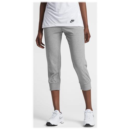 3d7bb18c9d2f Nike Gym Classic Capris - Women s - Casual - Clothing - Light Armory Blue  Heather Sail