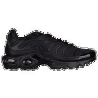 size 40 20451 422ba Nike Air Max Plus - Boys  Grade School - All Black   Black