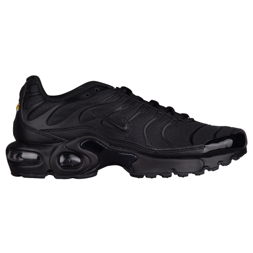 Nike Air Max Plus - Boys' Grade School - All Black / Black