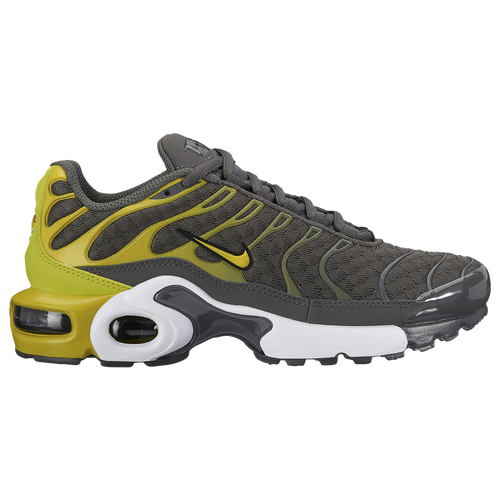 huge discount 6442b 6c1de ... Nike Air Max Plus - Boys Grade School - Olive Green Gold ...