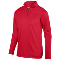 Augusta Sportswear Team Wicking Fleece Pullover - Men's - Red / Red
