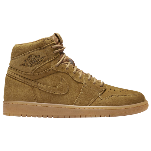 Jordan Retro 1 High OG - Men's - Basketball - Shoes - Golden Harvest/Gum  Yellow