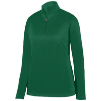 Augusta Sportswear Team Wicking Fleece Pullover - Women's - Dark Green / Dark Green