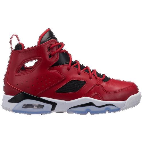 Jordan Flight Club  91 - Boys  Grade School - Basketball - Shoes - Gym  Red White Black de205f7de