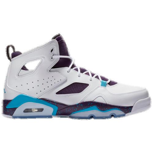 Jordan Flight Club  91 - Men s - Basketball - Shoes - White Blue  Lagoon Grand Purple Black 4dac688c2
