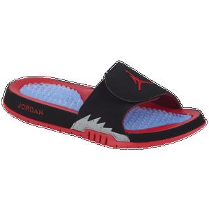 0f0a8e31d8ce Jordan Hydro Premium 5 - Men s - Basketball - Shoes - Black University Red Particle  Grey