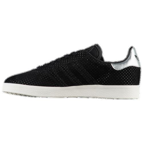 Adidas gazzella di formazione per le donne scarpe nere / nero / silver