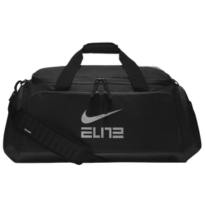 Nike Hoops Elite Max Air Duffel - Black/Cool Grey