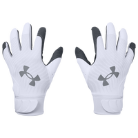 Under Armour Harper Hustle 20 Batting Gloves - White