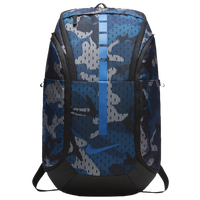 Nike Hoops Elite Max Air AOP Backpack - Blue / Black