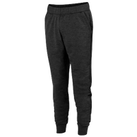 Augusta Sportswear Team Tonal Heather Fleece Jogger - Men's - All Black / Black