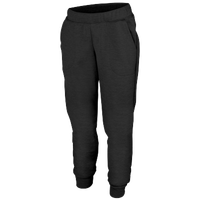 Augusta Sportswear Team Tonal Heather Fleece Jogger - Women's - All Black / Black