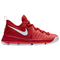 Nike KD 9 - Boys\u0027 Preschool - Kevin Durant - Red / White