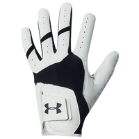 Under Armour Iso-Chill Golf Glove - Men's - White / Black