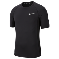 Nike Pro Fitted Football T-Shirt - Men's - Black