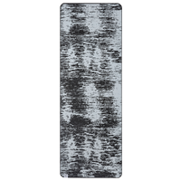 Gaiam 6mm Yoga Mat - Off-White / Black