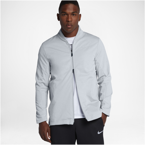 Nike KD MVP Jacket - Men's - Basketball - Clothing - Durant, Kevin - Wolf  Grey/Black