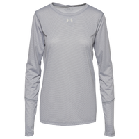Under Armour Team Team Locker True Twist L/S T-Shirt - Women's - Grey