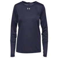 Under Armour Team Team Locker True Twist L/S T-Shirt - Women's - Navy