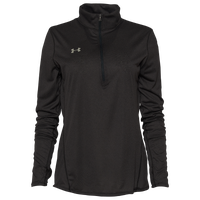 Under Armour Team Team Novelty True Twist 1/2 Zip - Women's - Black