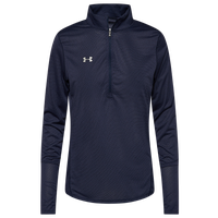 Under Armour Team Team Novelty True Twist 1/2 Zip - Women's - Navy