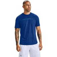 Under Armour Baseball Wordmark Graphic T-Shirt - Men's - Blue
