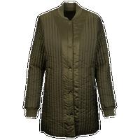 PUMA Reversible Light Jacket - Women\u0027s - Olive Green / Olive Green