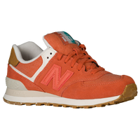 new balance 574 pique polo orange