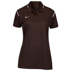 Nike Team Gameday Polo - Women's - Brown/White/White