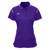 Nike Team Gameday Polo - Women's - Purple / White