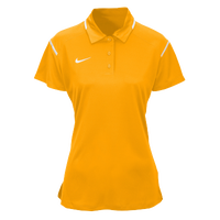 Nike Team Gameday Polo - Women's - Gold / White