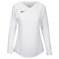 Nike Team Agility Jersey - Women's - All White / White