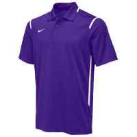 Nike Team Gameday Polo - Men's - Purple / White